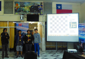 """GUILLERMO PAEZ MEDINA fue el Campeón del """"XXVI Torneo Open Ajedrez Arica 2015"""""""