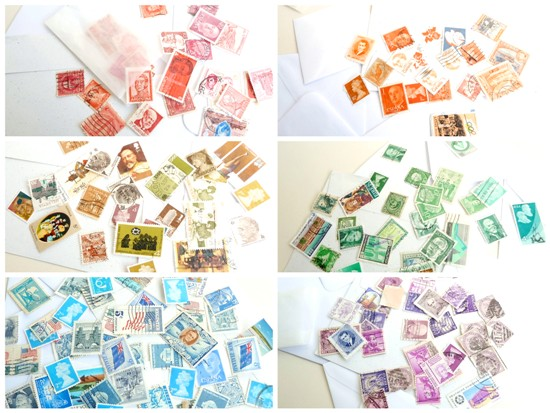 Instant Stamp Collections - rainbow