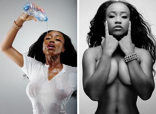 Nude female singer, black women nude video