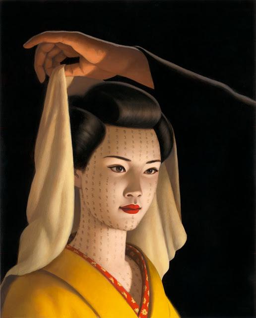 tatouage de visage de femme - tatouage visage femme féerique Inkage