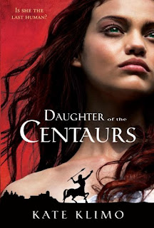 Book cover for Daughter of the Centaurs by Kate Klimo