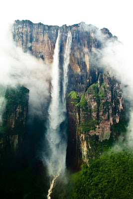 longest waterfall in the world Angel waterfall