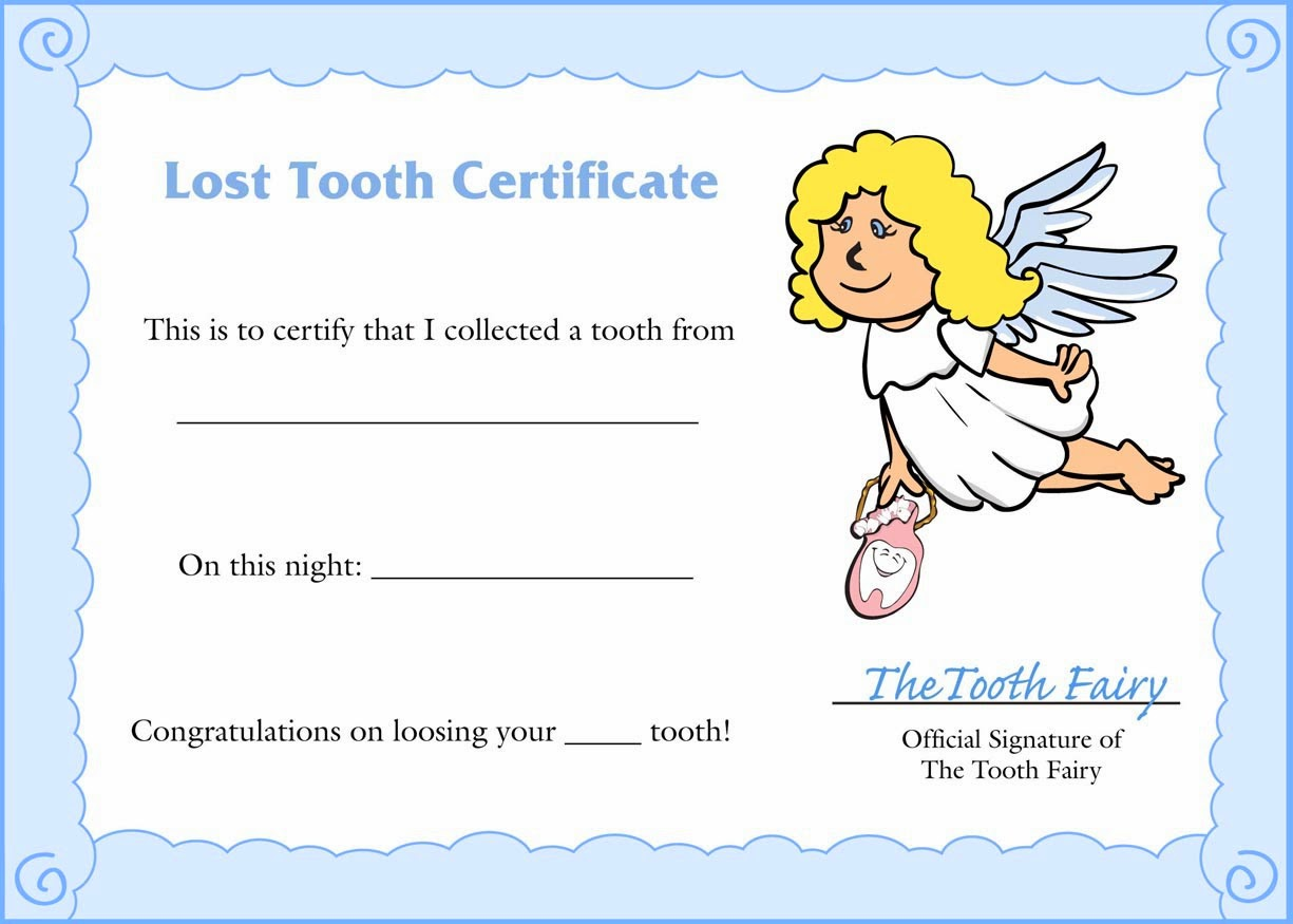 Tooth fairy letter template out of darkness when the kid has lost their tooth e on do xflitez Choice Image