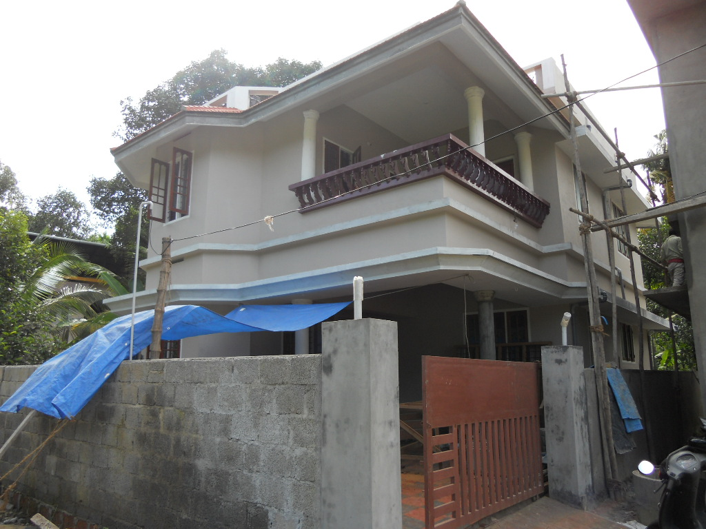 4 cent plot with 1700 sq ft new house for sale in MLA road