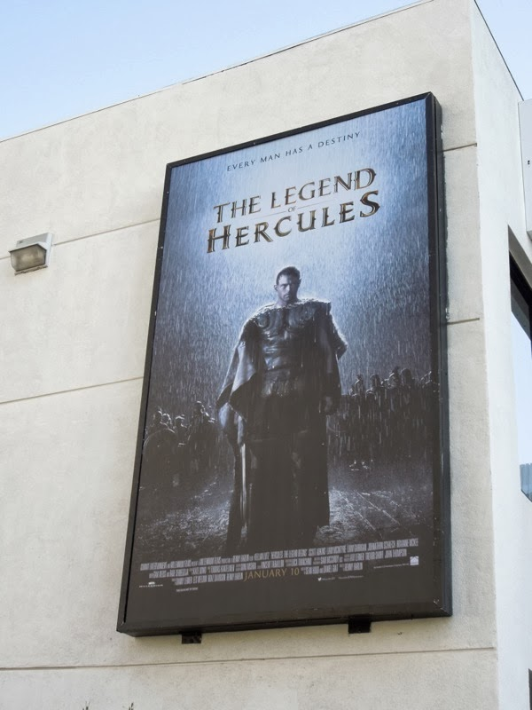 Legend of Hercules movie billboard