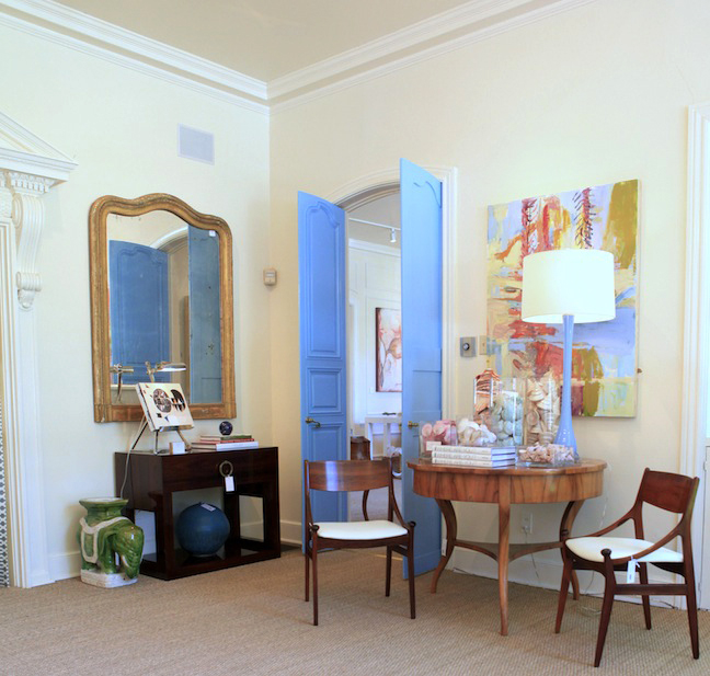 Knight moves blue print bliss perhaps my favorite room in the house store malvernweather Image collections