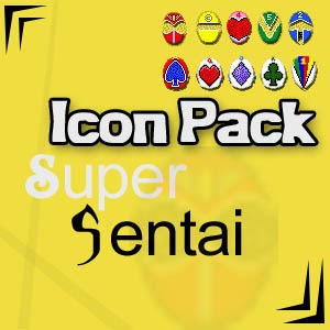 Download Super Sentai Icon Pack