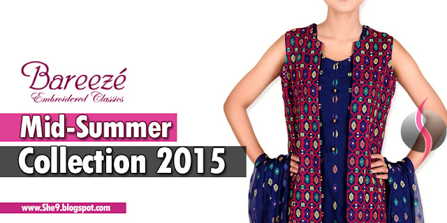 Bareeze New Arrivals of Midsummer Dresses