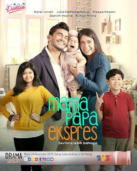 Lagu Drama OST Mama Papa Ekspres (Astro)