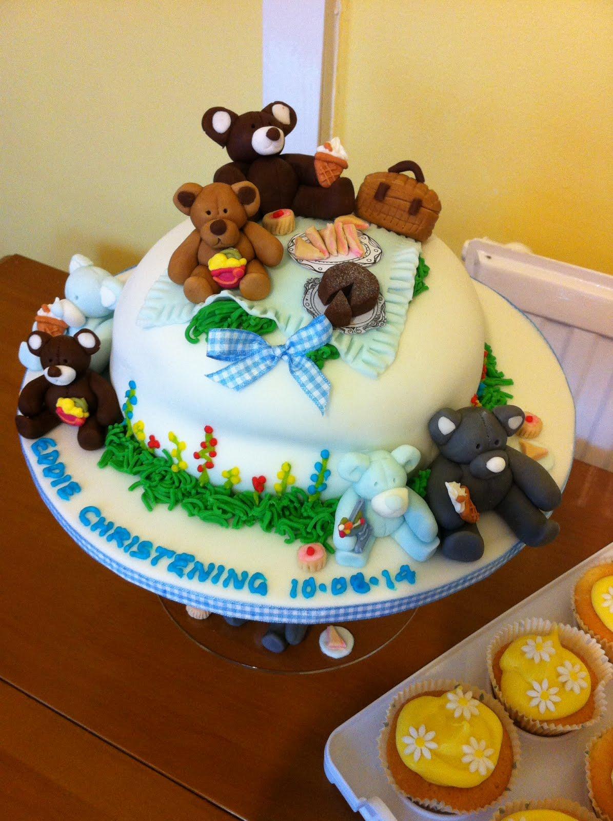 ♥•*¨*•♥Teddy Bears Picnic Cake