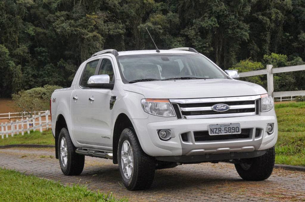 Ford Ranger 2015: More technology with SYNC AppLink system and ...