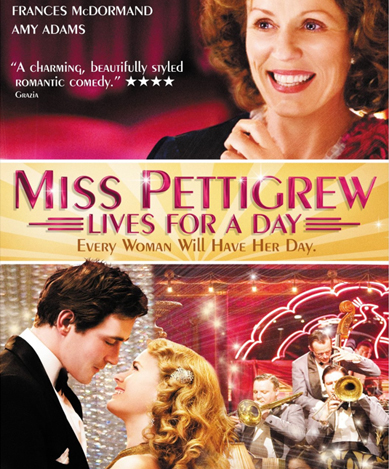 A sartorial swoonfest, this time at the 1930's Rom-Com, Miss Pettigrew Lives for A Day