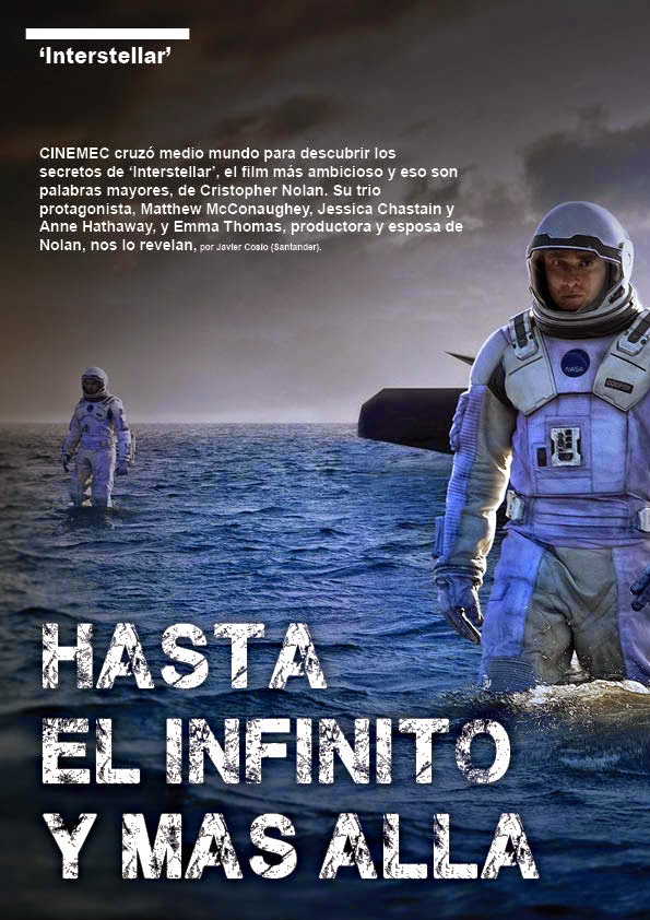 Maquetación Interstellar Revista Formato A4 Adobe Indesign [Fotogramas]