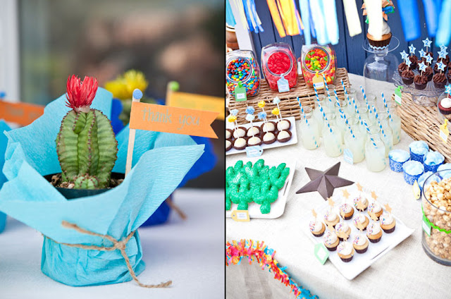 Cinco De Mayo parties cactus favor
