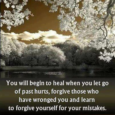 letting go of pain
