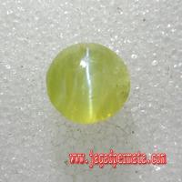 Batu Permata Natural Chrysoberyl Cat Eye