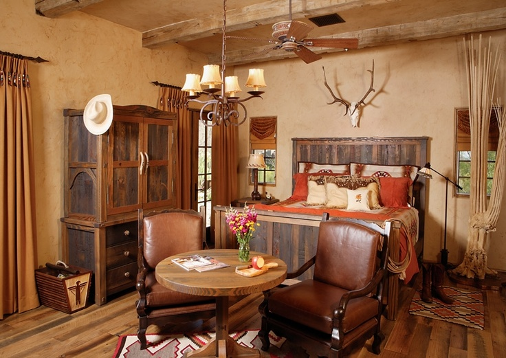 Eye for design decorating the western style home for Southwestern home decor