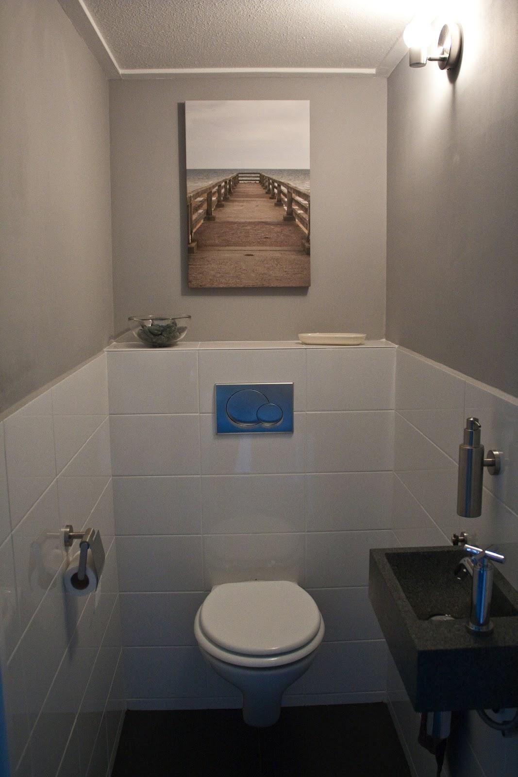 Hand have a nice day klus geklaard - Muur tegels voor wc ...