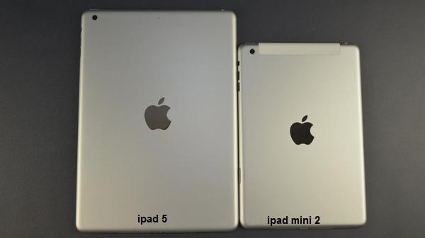 leaked photo for ipad 5 and ipad mini 2