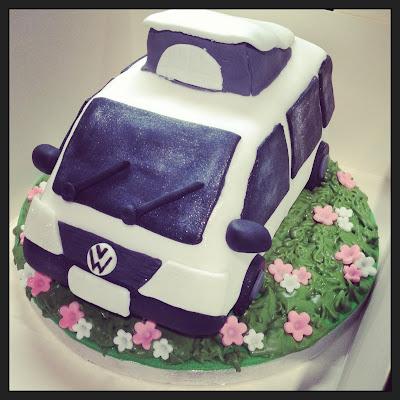 Camper Van Cake