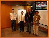 Dr Ismail Tambi,Prof Ralf Henkel S.Africa ,Tengku Shahril BMB and Prof Saiful Bahari USM Nu-Prep100