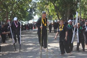 Festival Egrang Purwakarta Masuk Rekor Muri