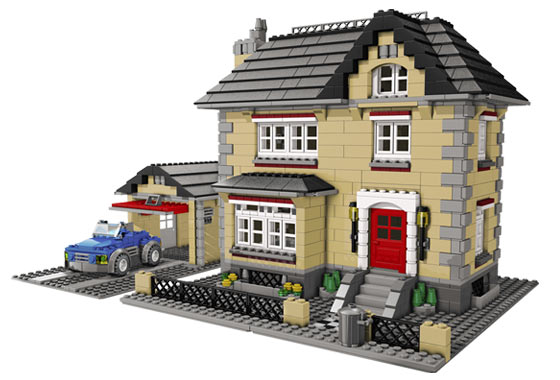 Bricks And Pieces Lego Creator Town House 4954