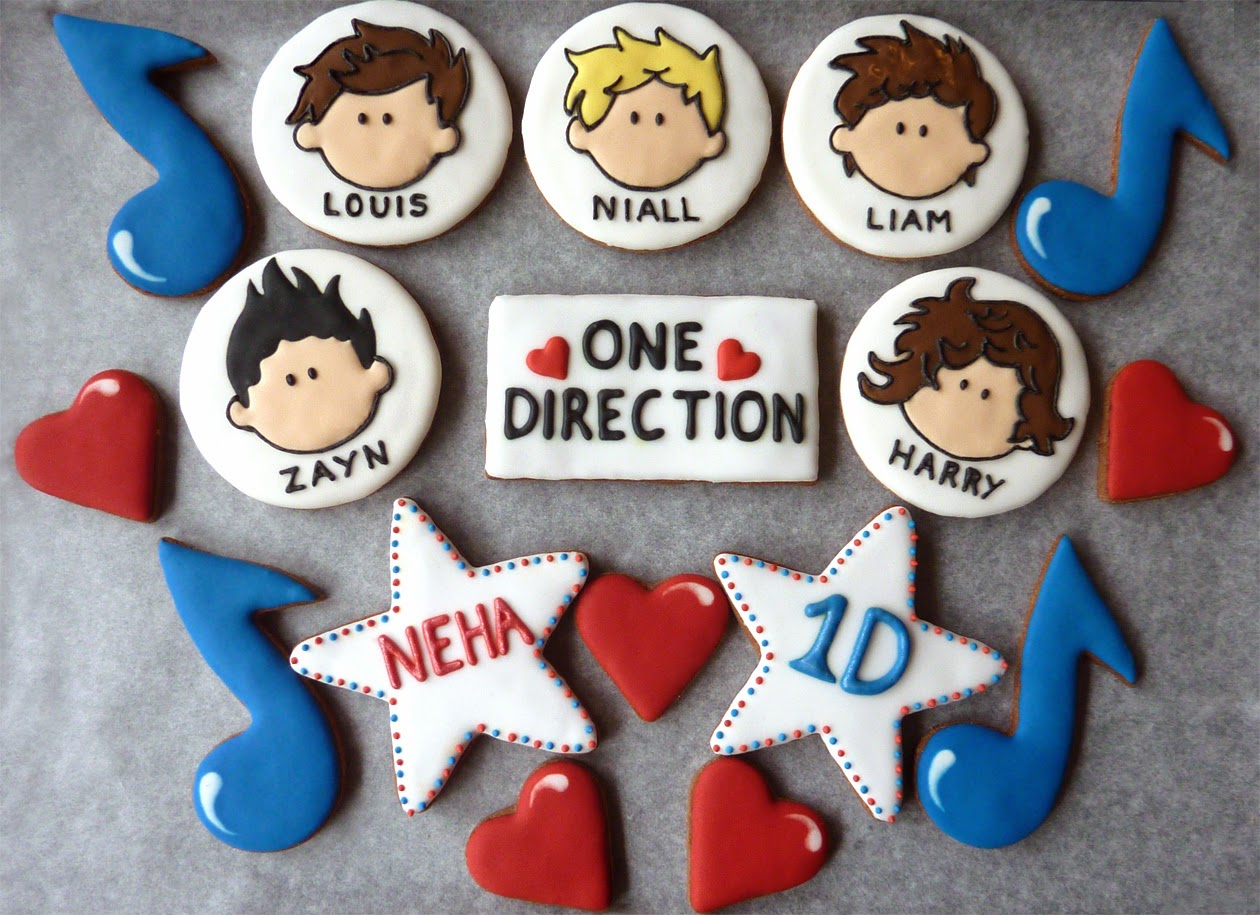 One Direction Cookie Set