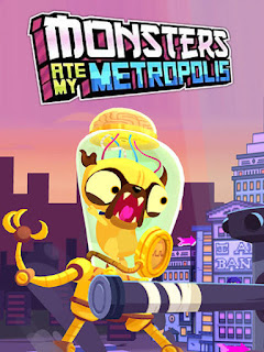 Screenshots of the Monsters ate my Metropolis for Android tablet, phone.