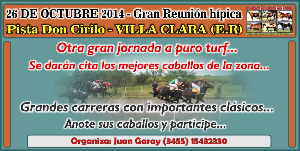 VILLA CLARA - REUNION 26.10.2014