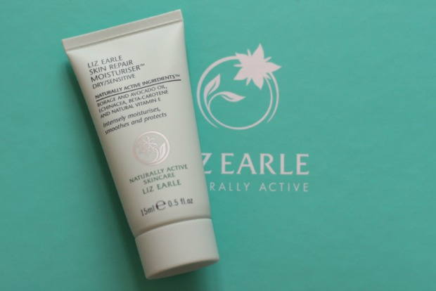 beauty, skin repair moisturiser, dry skin, liz earle, review, skincare, test,