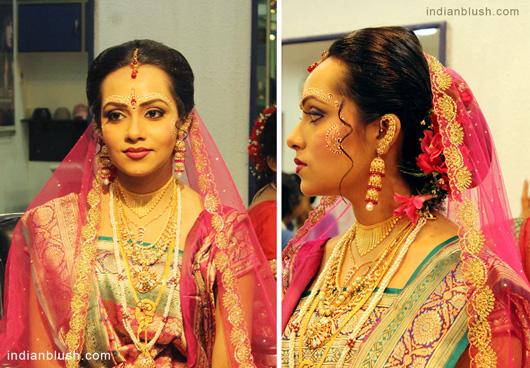 Bengali Bridal Makeup Artist in Kolkata Saajo