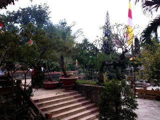 Pagode Long Son Nha Trang (Vietnam)
