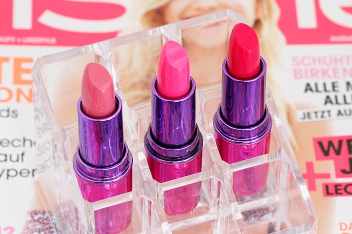 Makeup Revolution: I Heart Makeup Lip Geek Lipsticks