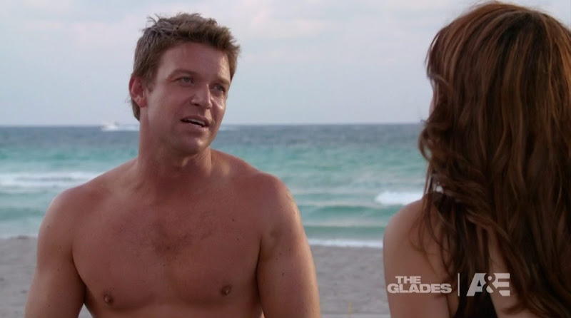 Matt Passmore Shirtless in the Glades s2e07