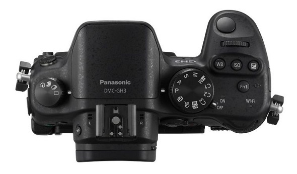 Fotografia dall'alto della Panasonic GH3