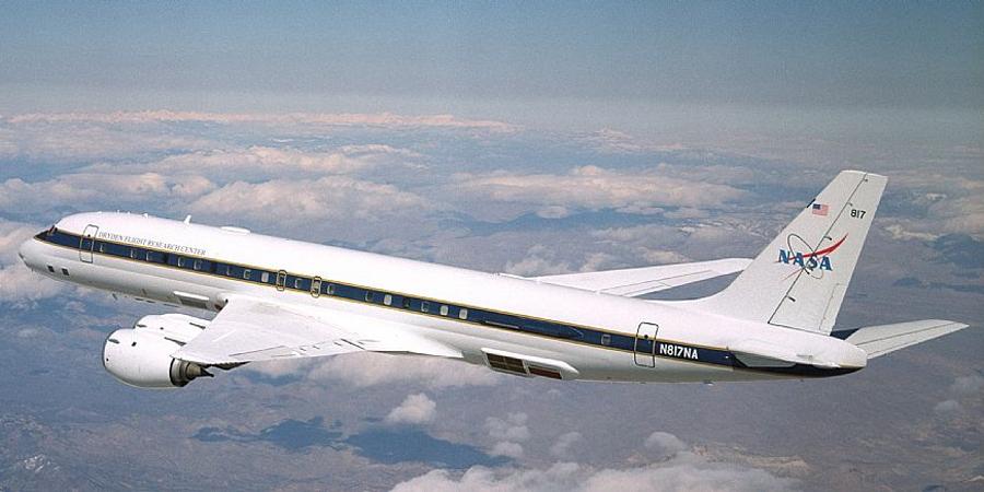 DC-8 N817NA