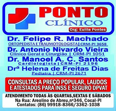 Ponto Clínico - Consultas a preço popular em Cocal