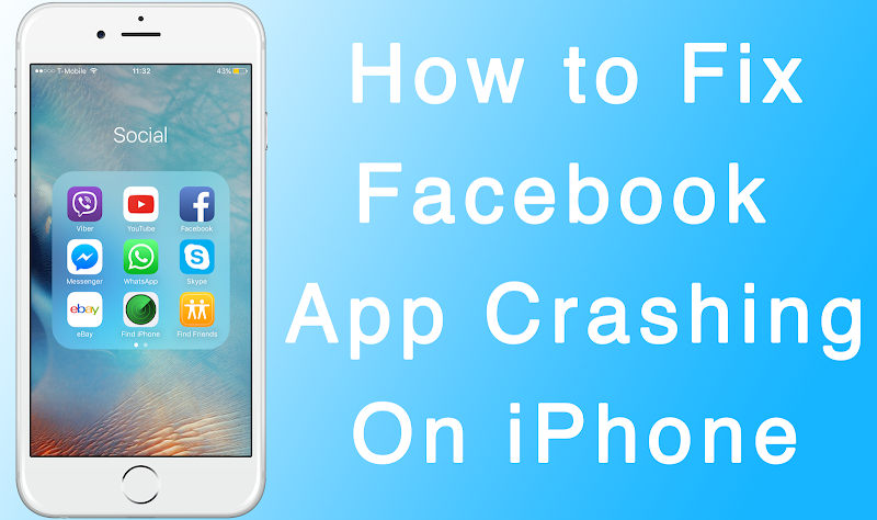 Fix Facebook Crashing on iPhone