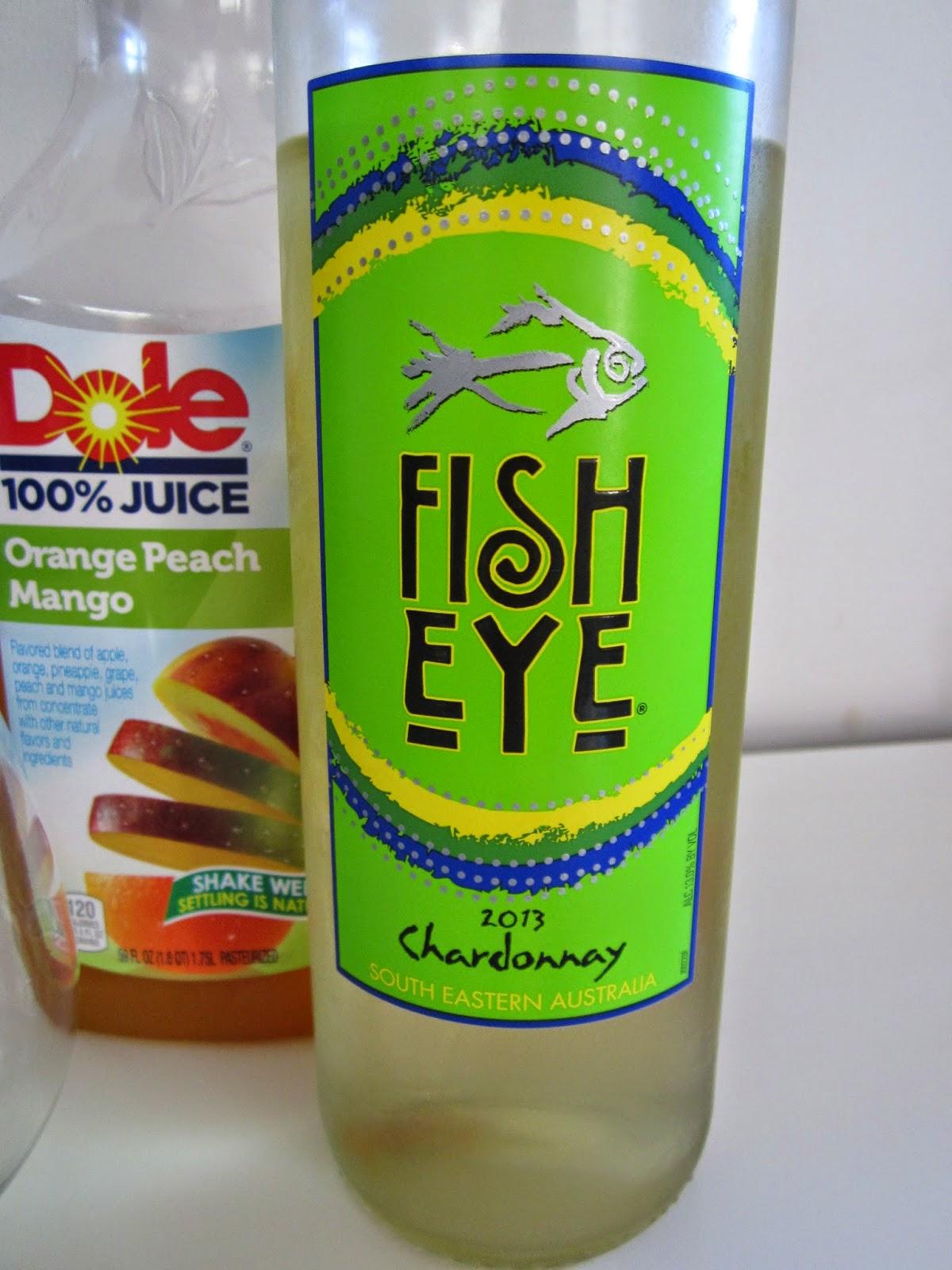 Sponsored post make trader sam 39 s white sangria with fish for Fish eye wine