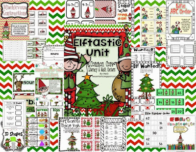 http://www.teacherspayteachers.com/Product/Elftastic-Literacy-Math-Unit-CCSS-Aligned-954423