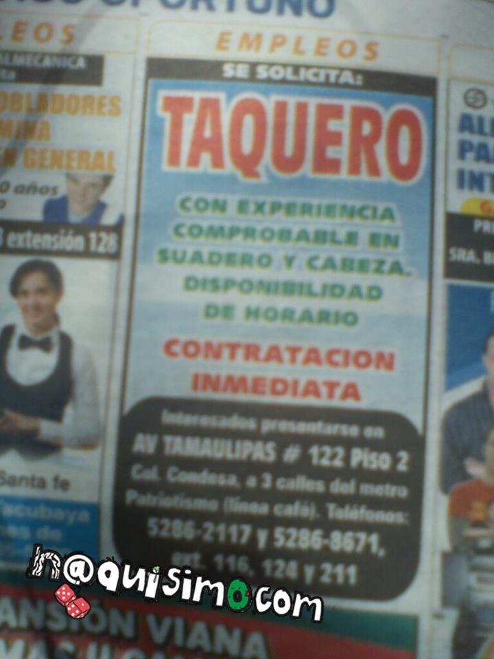 Maestria Taquerias