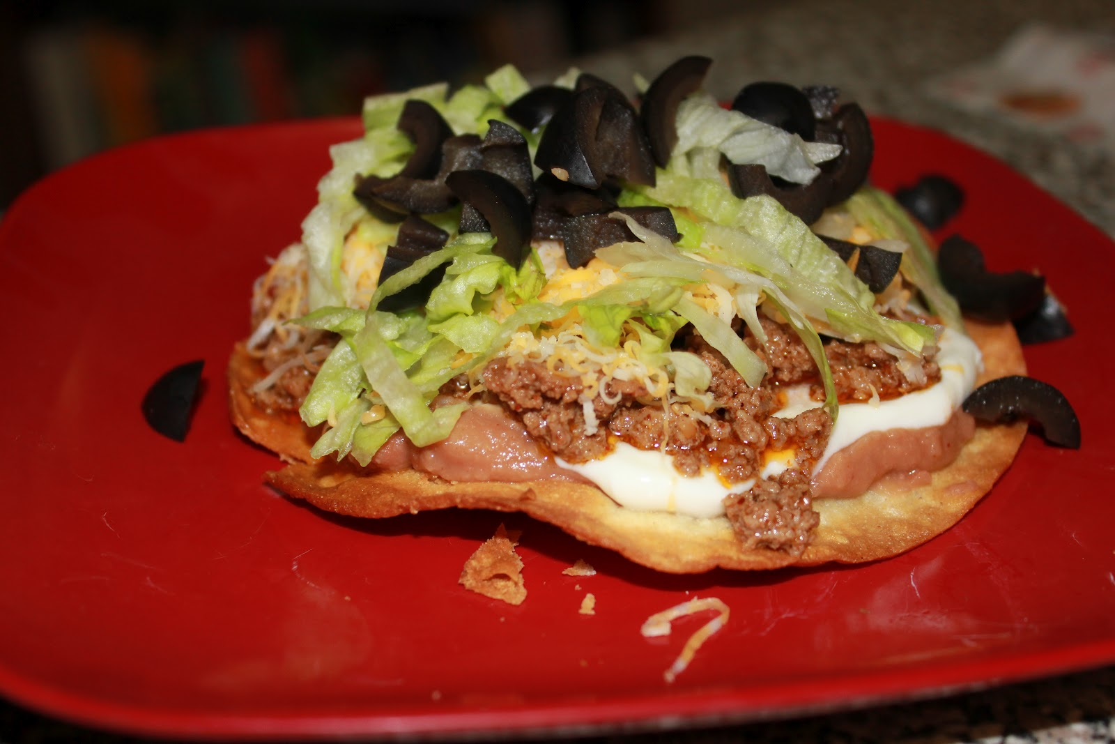 Girls in Aprons: 7-layer tostadas