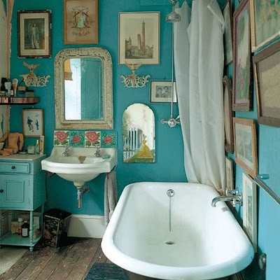 How to Design an Eclectic Bathroom by dialupplumbing.com.au
