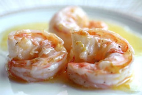 Food and Beverages recipes: Shrimp with Orange Beurre Blanc