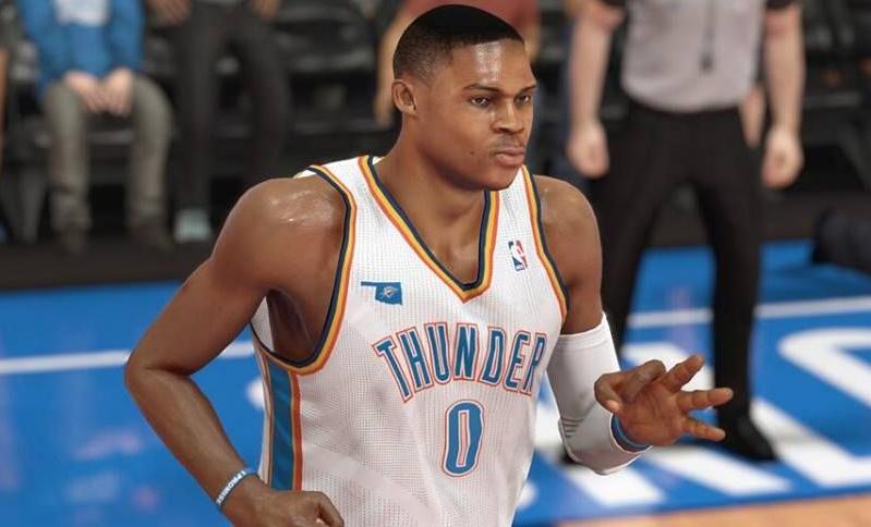 NBA 2K14 Russell Westbrook Next-Gen Face Mod
