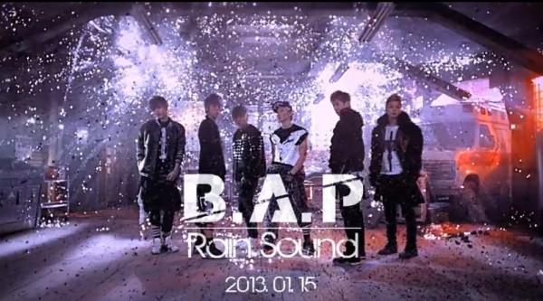 "B.A.P ""Rain Sound"""