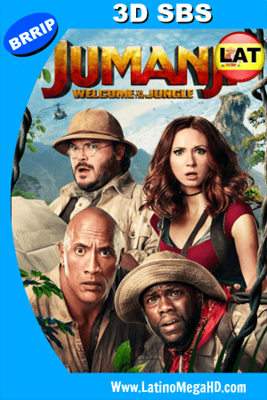Jumanji: En la Selva (2017) Latino FULL 3D SBS 1080P ()