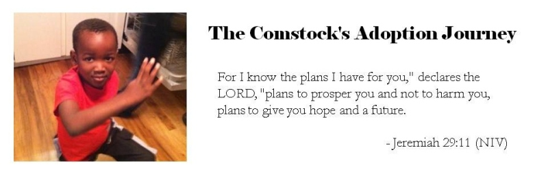 The Comstock's Adoption Journey