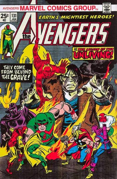 Avengers #131, Legion of the Unliving